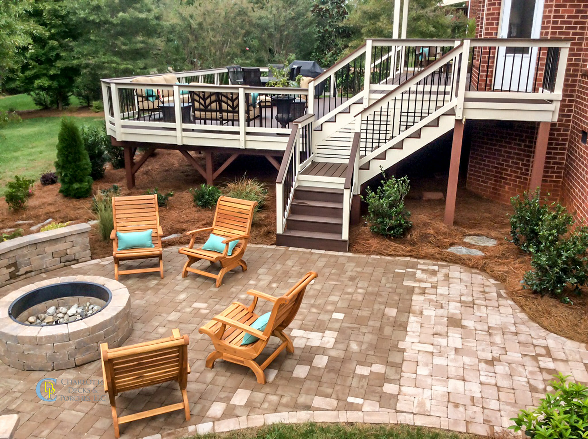 Composite Deck Photos Charlotte Decks And Porches Llc